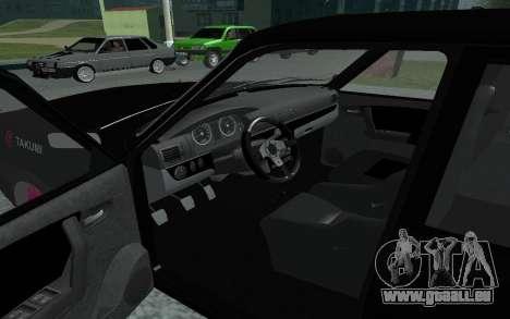 GAZ de 31105 Volga pour GTA San Andreas vue arrière