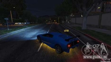 GTA 5 Drift HUD dritten Screenshot