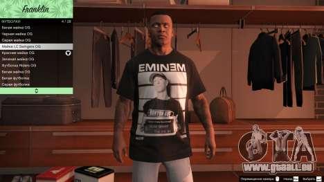 GTA 5 Franklin Hip Hop T-Shirts vierten Screenshot