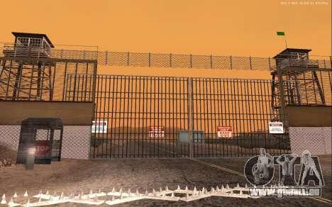 Nouvelle Base Militaire v1.0 pour GTA San Andreas cinquième écran