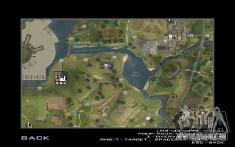 HD-Karte für Diamondrp für GTA San Andreas zweiten Screenshot