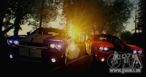 ENB White_SA v1.0 für GTA San Andreas zweiten Screenshot