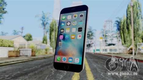 iPhone 6S Space Grey für GTA San Andreas zweiten Screenshot
