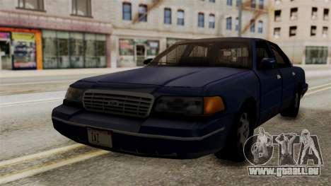 Ford Crown Victoria LP v2 Civil pour GTA San Andreas