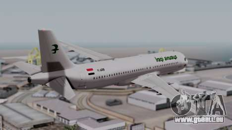 Airbus A320-200 Iraqi Airways für GTA San Andreas linke Ansicht