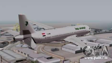 Airbus A320-200 Iraqi Airways pour GTA San Andreas laissé vue