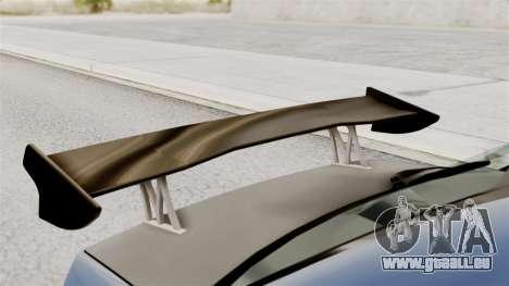 Mitsubishi Lancer Evolution v2 für GTA San Andreas Rückansicht