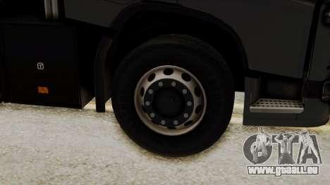 Volvo FH Euro 6 10x4 Exclusive Low Cab für GTA San Andreas zurück linke Ansicht
