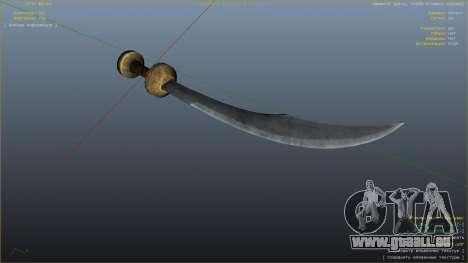 GTA 5 Krummsäbel aus Skyrim sechster Screenshot