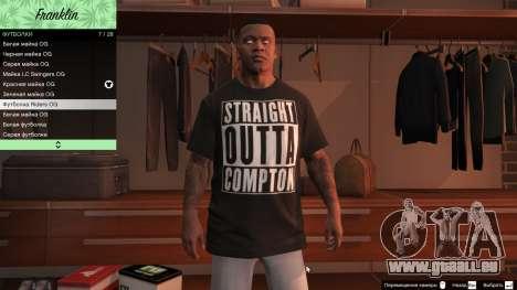 GTA 5 Franklin Hip Hop T-Shirts Siebter Screenshot