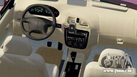 GTA 5 Daewoo Nubira Wagon je NOUS 1999 - version FINAL droite vue latérale
