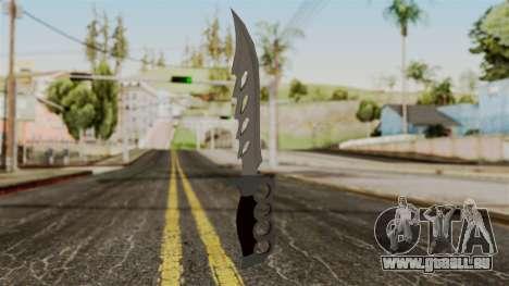 Le couteau pour GTA San Andreas deuxième écran