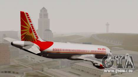 Airbus A320-200 Air India für GTA San Andreas linke Ansicht