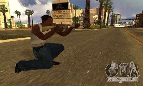 GTA 5 Gusenberg Balayeuse pour GTA San Andreas deuxième écran