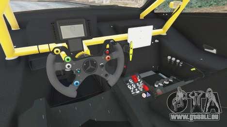 GTA 5 Mercedes-Benz C204 AMG DTM 2013 vorne rechts Seitenansicht