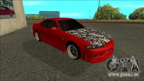 Nissan Skyline R33 Fairlady für GTA San Andreas linke Ansicht