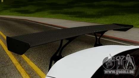 Subaru BRZ 2010 Rocket Bunny v1 pour GTA San Andreas vue arrière