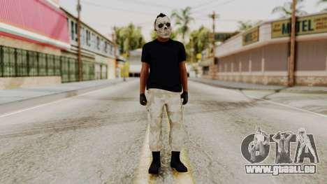 Skin DLC Ultimo Equipo En Pie für GTA San Andreas zweiten Screenshot