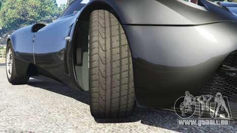 GTA 5 Pagani Huayra droite vue latérale