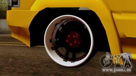 Toyota Kijang Tuned für GTA San Andreas zurück linke Ansicht