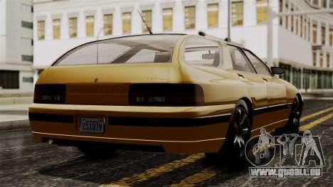 GTA 5 Zirconium Stratum IVF pour GTA San Andreas laissé vue