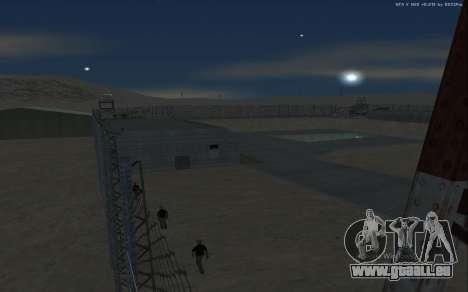 Nouvelle Base Militaire v1.0 pour GTA San Andreas douzième écran