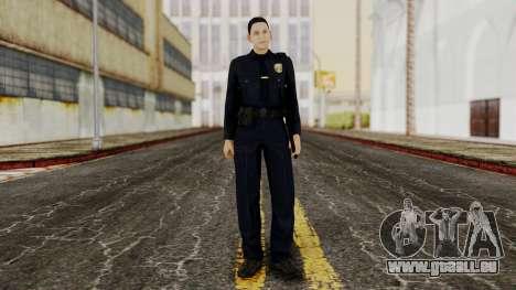 GTA 5 Cop für GTA San Andreas zweiten Screenshot