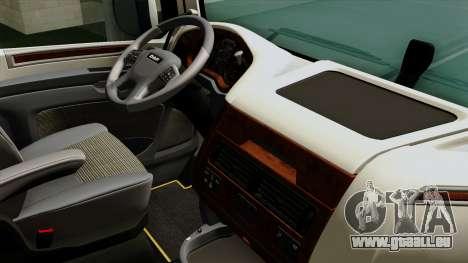 DAF XF Euro 6 SSC pour GTA San Andreas vue de droite