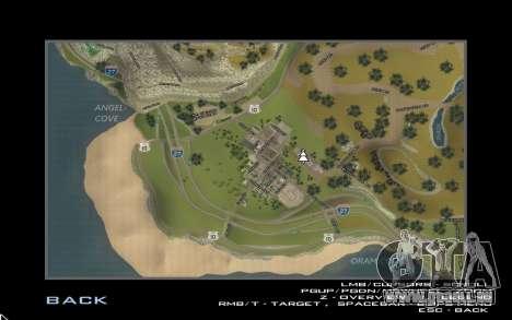 HD-Karte für Diamondrp für GTA San Andreas dritten Screenshot