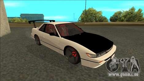 Nissan Silvia S13 Drift pour GTA San Andreas laissé vue