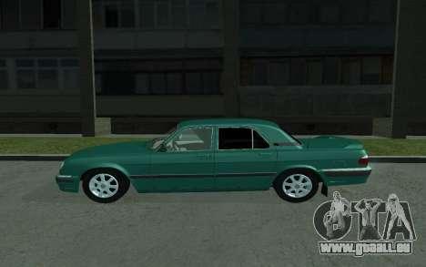 GAZ de 31105 Volga pour GTA San Andreas laissé vue