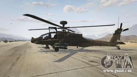 GTA 5 AH-64D Longbow Apache zweite Screenshot