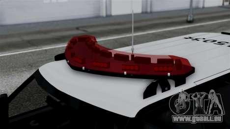 Chevrolet Blazer 2010 für GTA San Andreas rechten Ansicht