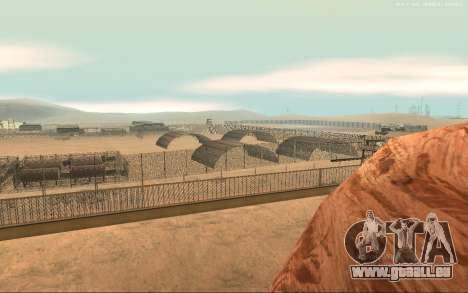 Nouvelle Base Militaire v1.0 pour GTA San Andreas