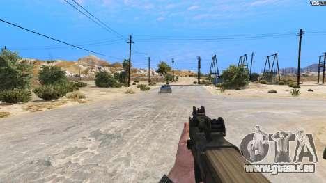 GTA 5 P-90 из Battlefield 4 vierten Screenshot