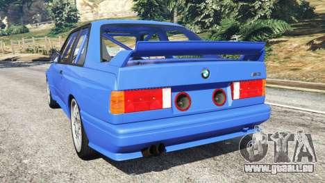 GTA 5 BMW M3 (E30) 1991 hinten links Seitenansicht