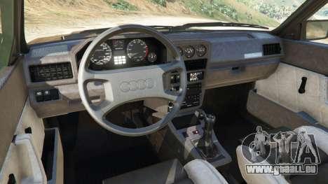 GTA 5 Audi Sport quattro v1.2 rechte Seitenansicht