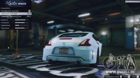 GTA 5 Roue Nissan 370z