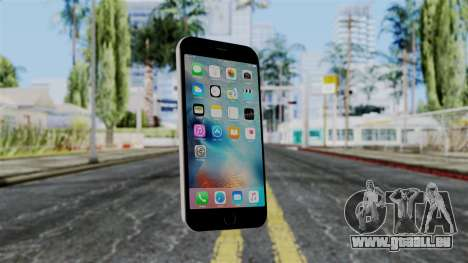 iPhone 6S Space Grey pour GTA San Andreas