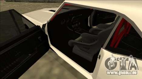 Chevrolet Camaro SS Drift für GTA San Andreas rechten Ansicht