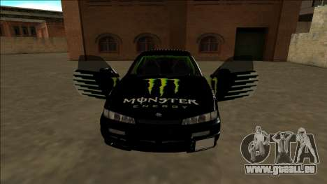 Nissan 200SX Drift Monster Energy Falken pour GTA San Andreas roue