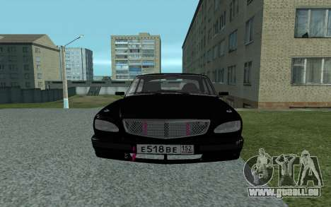 GAZ de 31105 Volga pour GTA San Andreas vue de droite