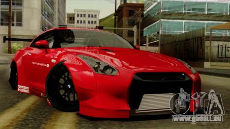 Nissan GT-R Liberty Walk Performance pour GTA San Andreas