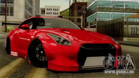 Nissan GT-R Liberty Walk Performance für GTA San Andreas