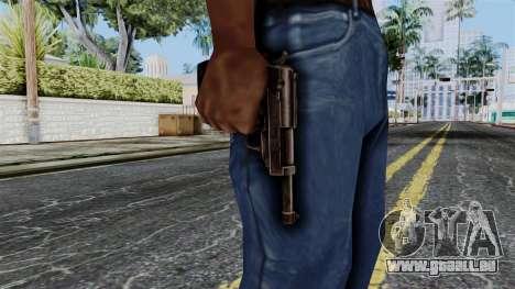 Walther P38 from Battlefield 1942 pour GTA San Andreas troisième écran