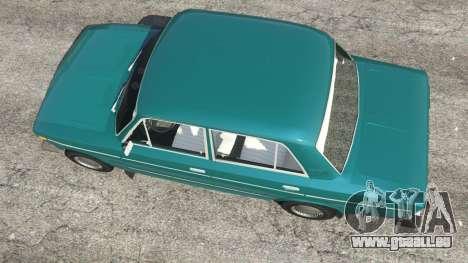 GTA 5 VAZ-2106 v0.2 vue arrière