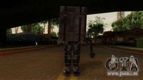 Chris Heavy Metal für GTA San Andreas dritten Screenshot