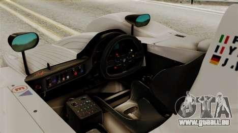 BMW V12 LMR 1999 Stock für GTA San Andreas rechten Ansicht