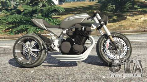 Honda CB 1800 Cafe Racer with Stickers für GTA 5