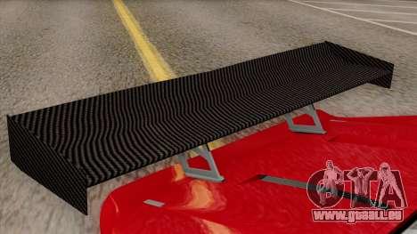 Vapid Bullet GT-GT3 pour GTA San Andreas vue arrière
